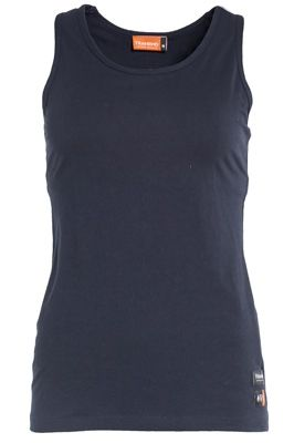 Tranemo 5917 Tank Top with Bra (Navy)