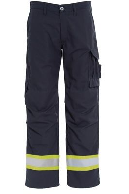 Tranemo 6028 Tera TX NM Ladies Trousers (Navy/High Vis Yellow)