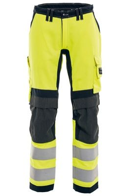Tranemo 6326 Stretch FR Ladies Trousers (Navy/High Vis Yellow)