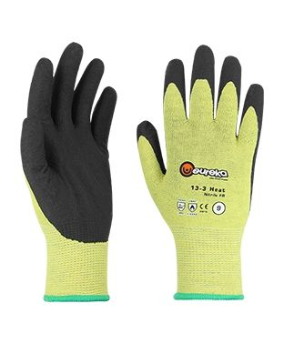 Tranemo RG0001 Gloves FR Contact (Black/Yellow)